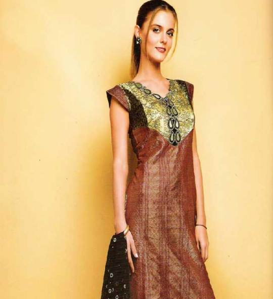 cotton churidar kameez