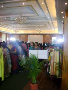 Utsav clothes exhibition Indore