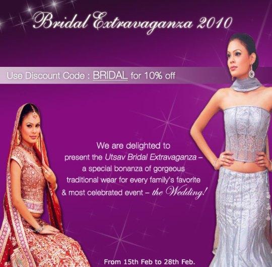 Utsavsarees - Bridal Wear Collection