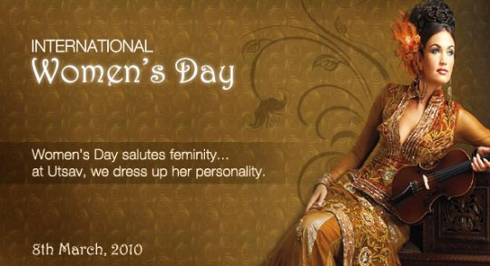 Utsav celebrating International Women's Day!