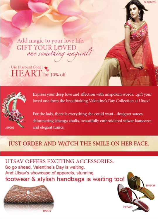 Add magic to your love life with our Valentine collection