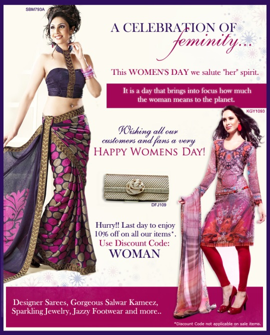 A celebration of feminity at UTSAV!